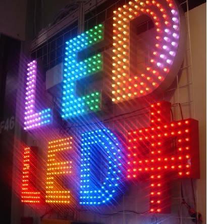 Nhận thi công đèn led quảng cáo đảm bảo siêu đẹp, siêu rẻ
